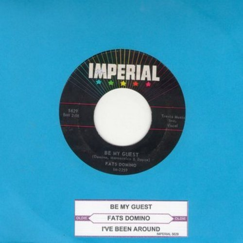 Domino, Fats - Be My Guest/I've Been Around (with juke box label) - VG7/ - 45 rpm Records