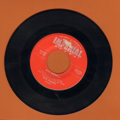 Domino, Fats - Blue Monday/What's The Reason I'm Not Pleasing You (red label) - VG7/ - 45 rpm Records