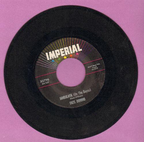 Domino, Fats - Jambalaya (On The Bayou)/I Hear You Knocking  - VG7/ - 45 rpm Records