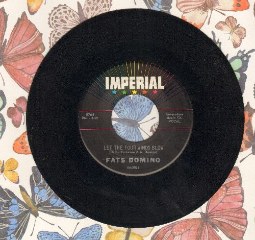 Domino, Fats - Let The Four Winds Blow/Good Hearted Man  - VG6/ - 45 rpm Records
