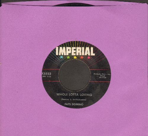 Domino, Fats - Whole Lotta Loving/Coquette  - VG7/ - 45 rpm Records