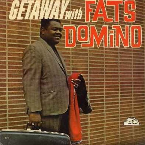 Domino, Fats - Getaway with Fats Domino: Ballin' The Jack, Monkey Business, Kansas City, When My Dreamboat Comes Home, Slow Boat To China (Vinyl MONO LP record) - EX8/EX8 - LP Records