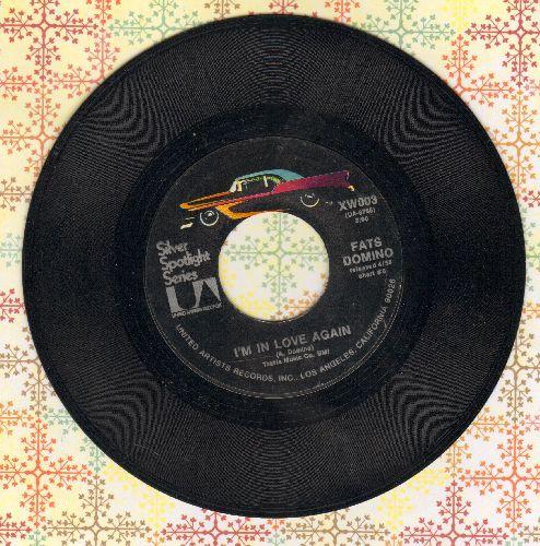 Domino, Fats - I'm In Love Again/Whole Lotta Lovin' (double-hit re-issue)(sol) - EX8/ - 45 rpm Records