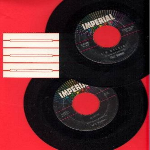 Domino, Fats - 2 for 1 Special: I'm Walkin'/Margie (2 vintage first issue 45rpm records for the price of 1!) - VG7/ - 45 rpm Records
