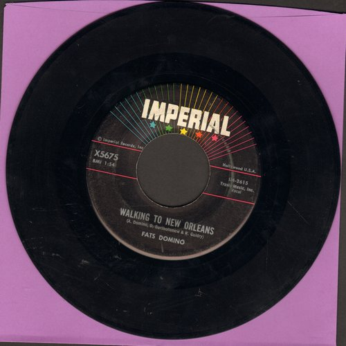 Domino, Fats - Walking To New Orleans/Don't Come Knockin'  - EX8/ - 45 rpm Records