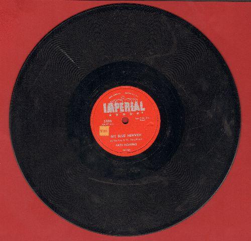 Domino, Fats - My Blue Heaven/I'm In Love Again (10 inch 78 rpm record) - VG6/ - 78 rpm
