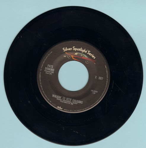 Domino, Fats - Walkin' To New Orleans/Country Boy (double-hit re-issue) - VG7/ - 45 rpm Records