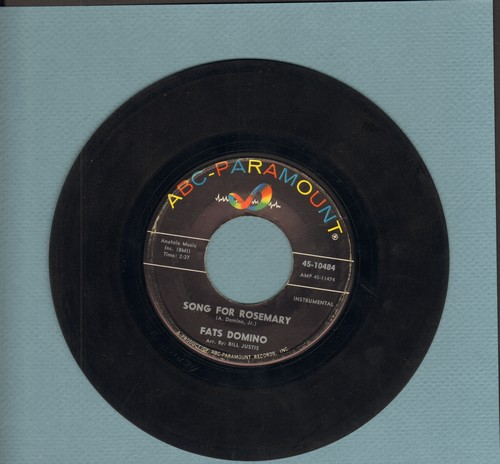 Domino, Fats - Red Sails In The Sunset/Song For Rosemary - VG7/ - 45 rpm Records