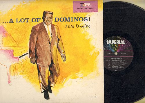 Domino, Fats - A Lot Of Dominos!: Three Nights A Week, Walking To New Orleans, Don't Come Knockin', My Girl Josephine (vinyl MONO LP record) - VG7/VG6 - LP Records