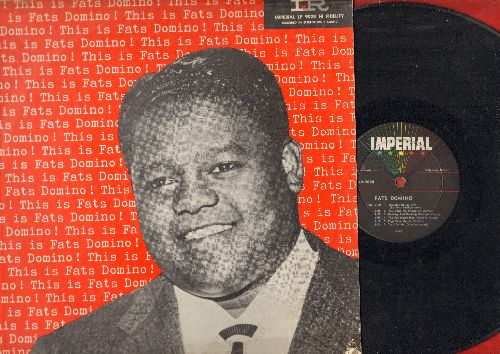 Domino, Fats - This Is Fats Domino: Blueberry Hill, Blue Monday, The Fat Man's Hop, Reeling And Rocking, So Long (vinyl MONO LP record, RARE 1956 first pressing) - VG7/VG7 - LP Records