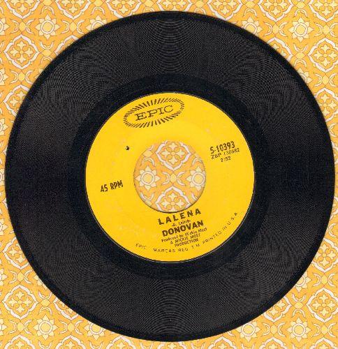 Donovan - Lalena/Aye My Love (bb) - EX8/ - 45 rpm Records