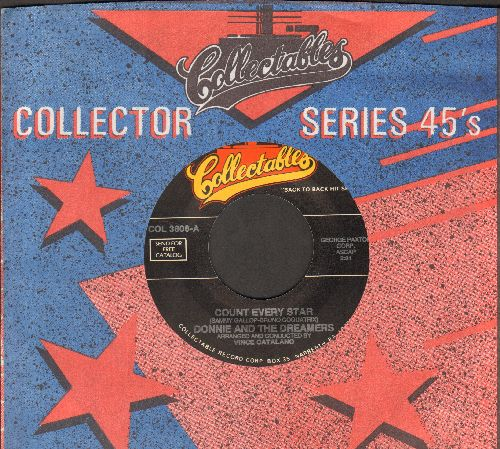 Donnie & The Dreamers - Count Every Star/My Memories Of You (re-issue with Collectables company sleeve) - M10/ - 45 rpm Records