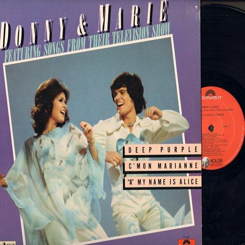 Osmond, Donny & Marie - Donny & Marie: Deep Purple, Butterfly, C'Mon Marianne, A Little Bit Country A Little Bit Rock 'N Roll (Vinyl LP record) - M10/NM9 - LP Records