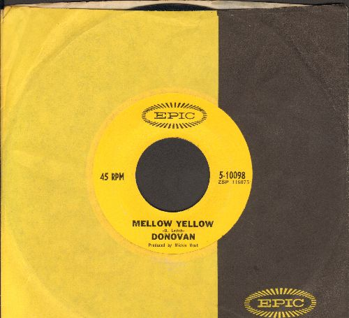 Donovan - Mellow Yellow/Sunny South Kensington (with Epic company sleeve) - VG6/ - 45 rpm Records