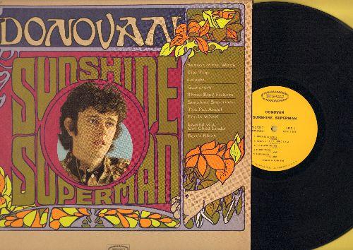 Donovan - Sunshine Superman: Season Of The Witch, The Trip, Celeste, The Fat Angel, Ferris Wheel (vinyl MONO LP record) - EX8/NM9 - LP Records