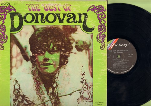 Donovan - The Best Of: Universal Soldier, Catch The Wind, Colours, The Little Atiin Soldier (Vinyl STEREO LP record) - EX8/VG6 - LP Records