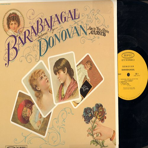 Donovan - Barabajagal: Superlungs My Supergirl, Trudi, To Susan On The West Coast Waiting (Vinyl STEREO LP record) - NM9/EX8 - LP Records