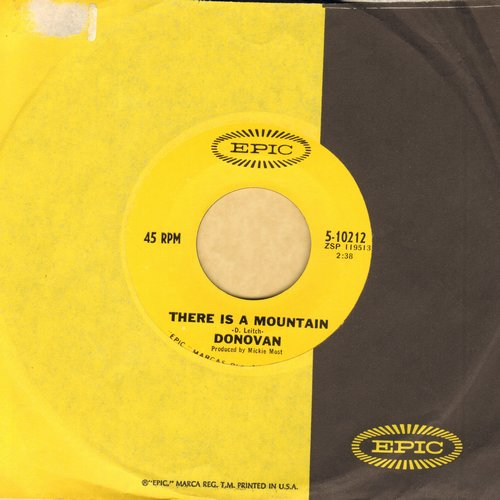 Donovan - There Is A Mountain/Sand And Foam (with original company sleeve) - EX8/ - 45 rpm Records