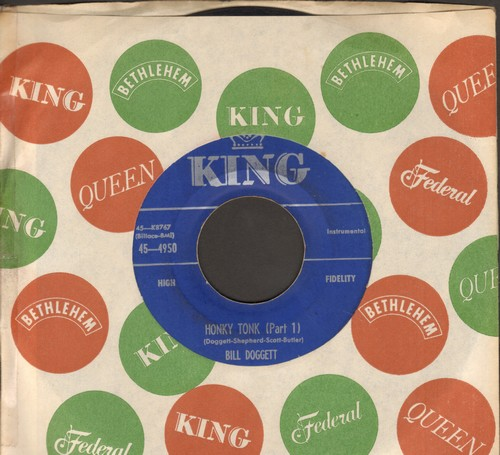 Doggett, Bill - Honky Tonk (Parts 1 + 2)  - EX8/ - 45 rpm Records