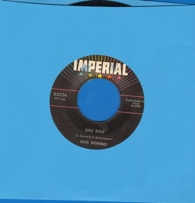 Domino, Fats - Shu Rah/Fell In Love On Monday - VG7/ - 45 rpm Records