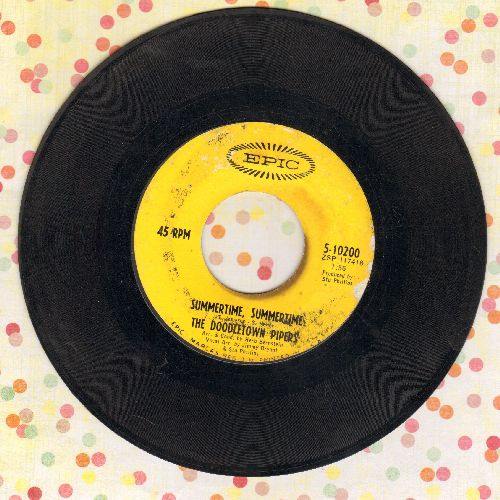 Doodletown Pipers - Summertime, Summertime/A Summer Song (DJ advance pressing) - VG7/ - 45 rpm Records
