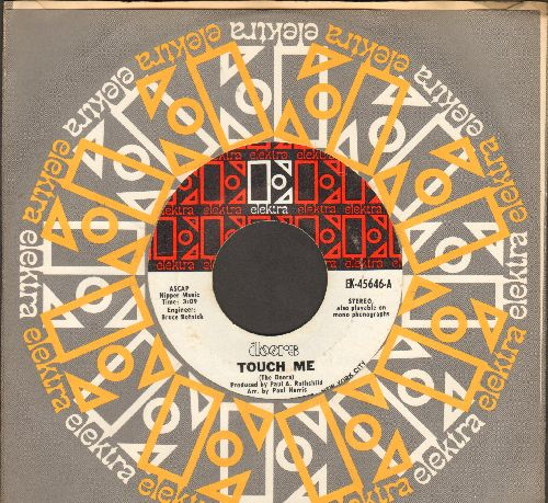Doors - Touch Me/Wild Child (with vintage Elektra company sleeve) - EX8/ - 45 rpm Records