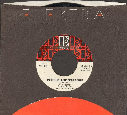 Doors - People Are Strange/Unhappy Girl (with Elektra company sleeve) - EX8/ - 45 rpm Records