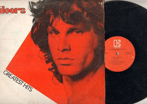 Doors - Greatest Hits: Light My Fire, Hello I Love You, People Are Strange, Touch Me, L.A. Woman (vinyl STEREO LP record) - VG7/VG7 - LP Records