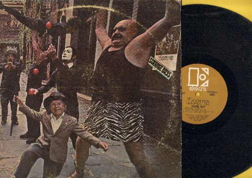 Doors - Strange Days: People Are Strange, Love Me Two Times, Unhappy Girl, When The Music's Over (vinyl STEREO LP record) - EX8/VG7 - LP Records