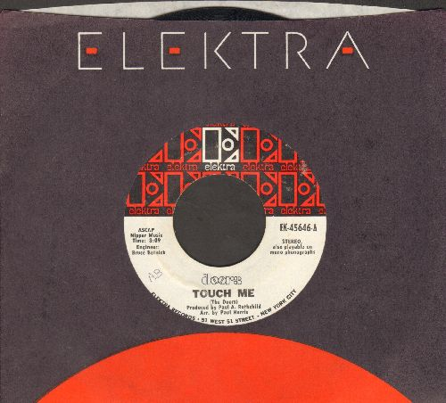 Doors - Touch Me/Wild Child (with Elektra company sleeve) - EX8/ - 45 rpm Records