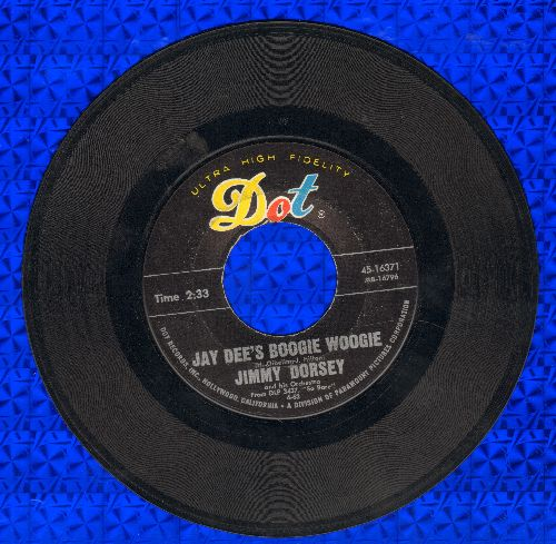Dorsey, Jimmy Orchestra - Jay-Dee's Boogie Woogie/So Rare - VG7/ - 45 rpm Records