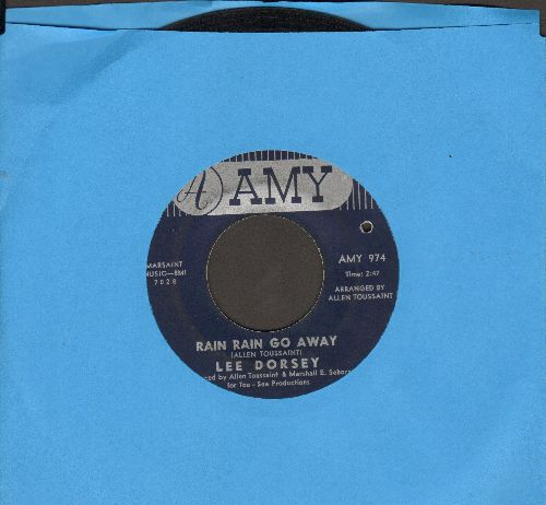 Dorsey, Lee - Rain Rain Go Away/Gotta Find A Job (bb) - EX8/ - 45 rpm Records