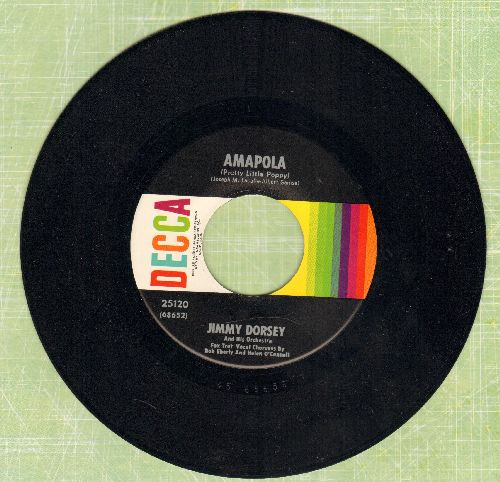 Dorsey, Jimmy - Amapola/Maria Elena (mulit-color 1960s pressing) - NM9/ - 45 rpm Records