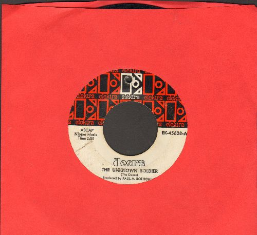 Doors - The Unknown Soldier/We Could Be So Good Together (bb) - VG7/ - 45 rpm Records