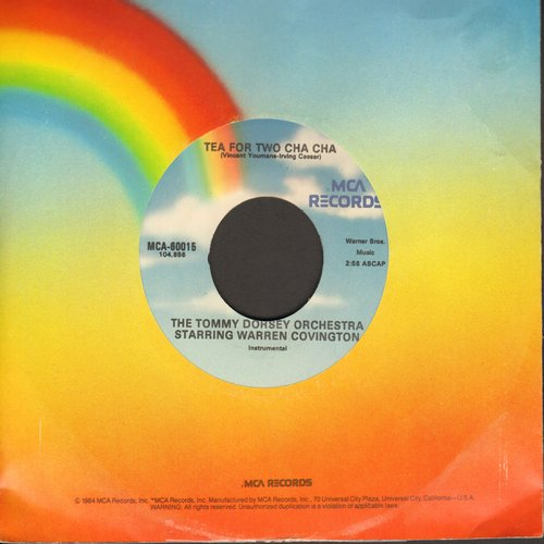 Dorsey, Tommy Orchestra - Tea For Two Cha Cha/Tea For Two Cha Cha No. 2 (re-issue) - M10/ - 45 rpm Records
