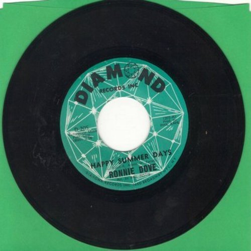 Dove, Ronnie - Happy Summer Days/Long After  - NM9/ - 45 rpm Records
