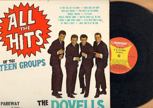 Dovells - All The Hits Of The Teen Groups: Why Do Fools Fall In Love, There Goes My Baby, Your Last Chance, Little Bitty Pretty One, Bristol Twistin' Annie (Vinyl MONO LP record, NICE condition!) - EX8/EX8 - LP Records