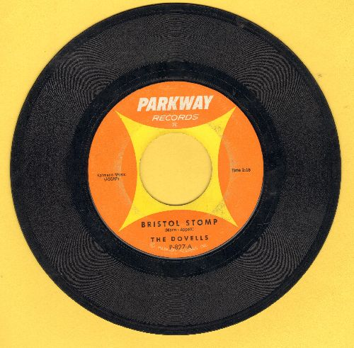 Dovells - Bristol Stomp/Letter Of Love  - VG7/ - 45 rpm Records