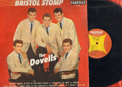 Dovells - Bristol Stomp: Desire, Foot Stompin', Let's Twist Again, Foot Stompin', Little Girl Of Mine (vinyl MONO LP record) - EX8/EX8 - LP Records