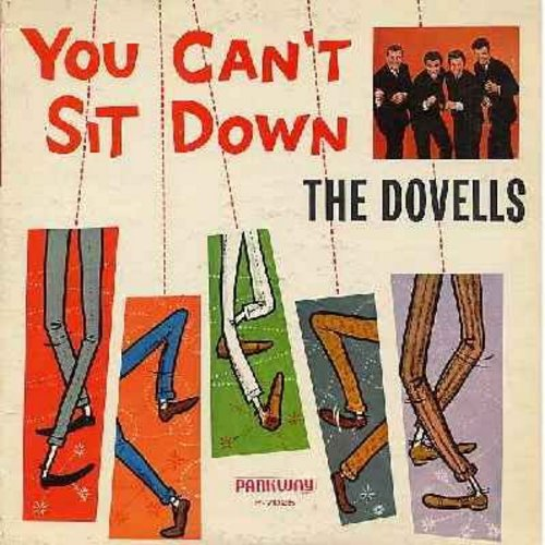 Dovells - You Can't Sit Down: Maybelline, 36-22-36, Wildwood Days, If You Wanna Be Happy, Summer Job, Short Fat Fanny, Miss Daisy De Lite (Vinyl MONO LP record) - VG7/VG7 - LP Records