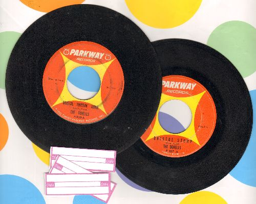 Dovells - 2 for 1 Special: Bristol Stomp/Bristol Twistin' Annie (2 vintage first issue 45rpm records for the price of 1! Shipped in plain paper sleeves with 3 blank juke box label) - VG7/ - 45 rpm Records