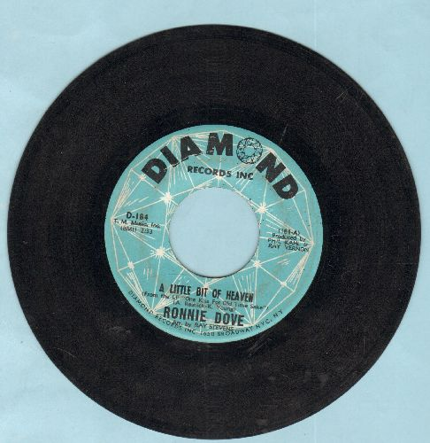 Dove, Ronnie - A Little Bit Of Heaven/If I Live To Be A Hundred - EX8/ - 45 rpm Records