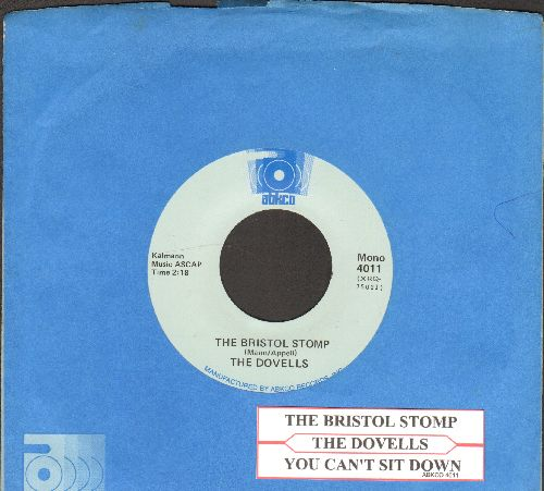Dovells - Bristol Stomp/You Can't Sit Down (double-hit re-issue with Abkco company sleeve and juke box label) - NM9/ - 45 rpm Records