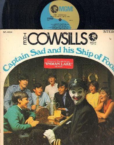 Cowsills - Captain Sad And His Ship Of Fools: Indian Lake, Painting The Day, The Path Of Love (vinyl STEREO LP record, gate-fold cover) (bb) - NM9/EX8 - LP Records