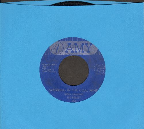 Dorsey, Lee - Working In The Coal Mine/Mexico  - VG7/ - 45 rpm Records