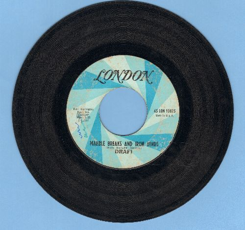 Drafi (Deutscher) - Marble Breaks And Iron Bends/Amanda (US Pressing) - VG7/ - 45 rpm Records