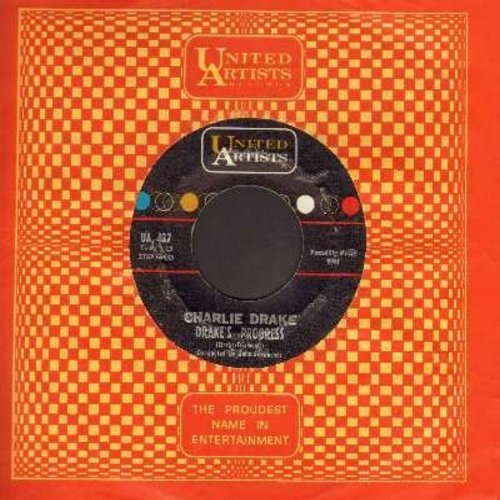 Drake, Charlie - Drake's Progress/Tanglefoot (with vintage United Artists company sleeve) - EX8/ - 45 rpm Records