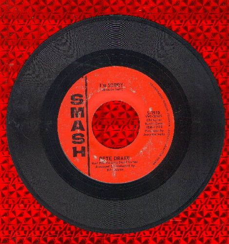 Drake, Pete - I'm Sorry (Steel-Guitar Instrumental version of Brenda Lee Hit)/I'm Just A Guitar (Everybody Picks Me)  - VG7/ - 45 rpm Records