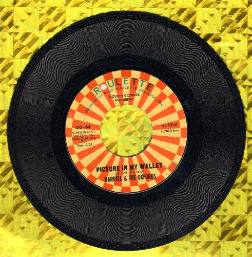 Darrell & The Oxfords - Picture In My Wallet/Rip Van Winklle (by The Devotions on flip-side) (re-issue) - NM9/ - 45 rpm Records