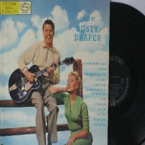 Draper, Rusty - Songs By Rusty Draper: Melancholy Baby, Lazy River, No Help Wanted, Lighthouse, Last Frontier, Lonesome Song (Vinyl MONO LP record, black label first issue) - EX8/EX8 - LP Records